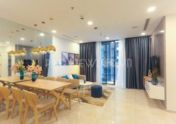 Apartment for rent high floor with 2 bedrooms beautiful view at Vinhomes Golden River