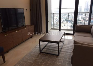 Apartment for rent at Vinhomes Golden River including 3 bedrooms morden furniture