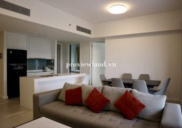 Apartment for rent 2 bedrooms 90sqm wide balcony at Gateway Thao Dien