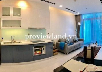 Vinhomes Central Park apartment for rent 2 bedrooms 70m2 full furniture at Park 1 tower