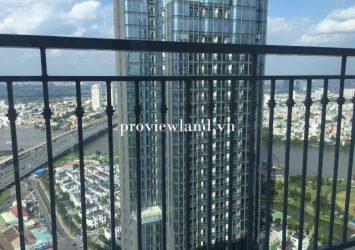 Apartment for rent in Vinhomes Central Park 3 bedrooms full furniture river view at landmark 3