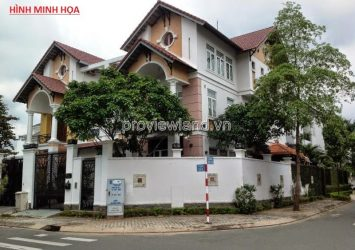 Nice villa in Thanh My Loi District 2 for sale area 290sqm 1 basement 5 floors river view