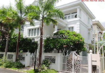 Selling 3 facades villa Vo Thi Sau District 3 1 ground 2 floor 695m2 beautiful security location