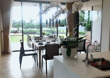Villa RESORT Riverside District 2 area of 908m2 design style to the maximum 5BRs