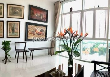 For sale luxury apartment The Vista 2BRs 101m2 low floor river view