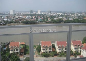 River Garden apartment for sale in Thao Dien 156m2 river view 4 bedrooms