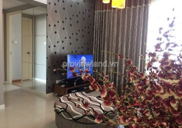 Saigon Pearl low floor apartment for sale has 2 bedrooms full furniture