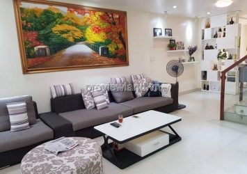 Selling town house An Phu An Khanh street District 2 1 basement 1 ground 3 floors area 4mx20m