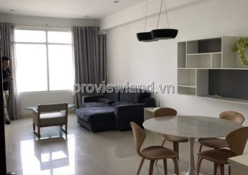 Saigon Pearl apartment for rent with 2 bedrooms low floor luxurious furniture