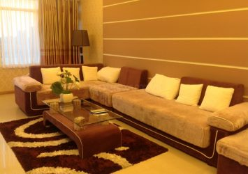 Saigon Pearl apartment for rent at Binh Thanh district with 4 bedrooms nice view