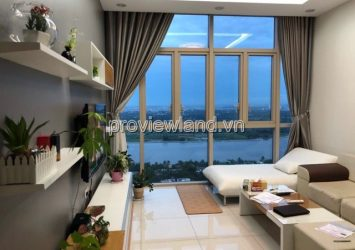 The Vista apartment 2 bedrooms river view full furniture for rent