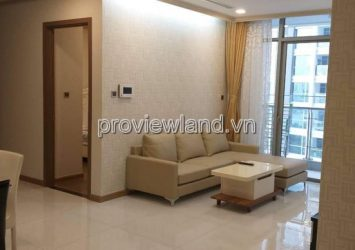 Vinhomes apartment for rent in Binh Thanh District has 2BRs 2WC luxury low floor