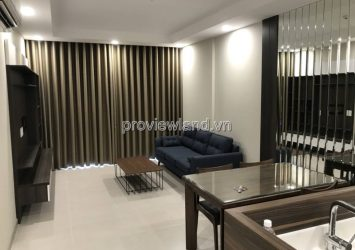 Apartment for rent in District 4 Golden View apartment consists of 2 bedrooms fully furnished