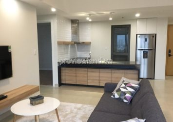 Apartment 3 bedrooms high floor fully furnished at Masteri Thao Dien for rent