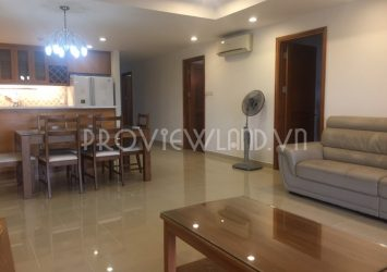 Apartment for rent at River Garden District 2 river view consists of 3 bedrooms area of 140m2