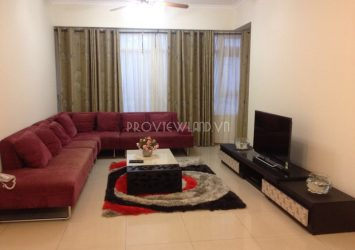 Saigon Pearl apartment with 3 bedrooms for rent fully furnished area of 135m2