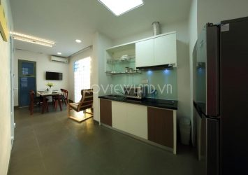 Serviced apartment for rent at Thao Dien with 2 bedrooms full facilities
