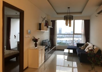 Apartment for rent at Thao Dien Pearl beautiful view with 2 bedrooms fully furnished
