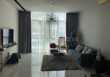 The apartment for rent at The Vista An Phu 3 bedrooms with pool view