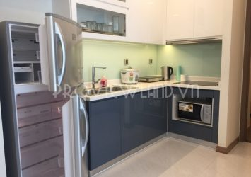 Apartment for rent river view high floor at Vinhomes Central Park with 2 bedrooms