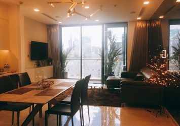 Beautiful apartment in Vinhomes Golden River for rent fully furnished with 2 bedrooms