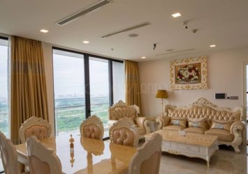 Vinhomes Golden River Aqua4 tower high floor apartment beautiful view 3 bedrooms for rent