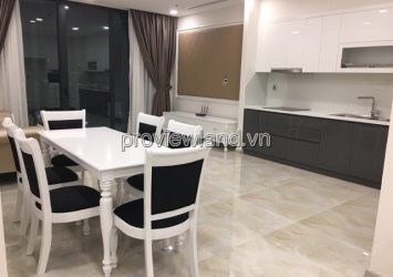 Apartment District 1 Vinhomes Golden River for rent 2BRs 88m2 River view and Landmark 81