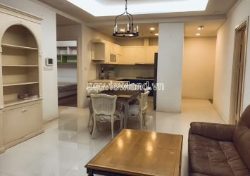 Thao Dien Pearl apartment need for rent 3 bedrooms high floor river view