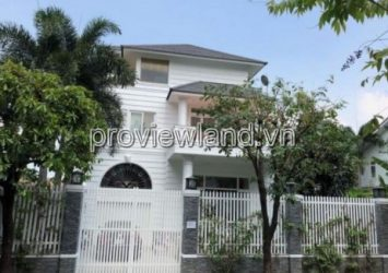Selling villa Fideco Thao Dien area 7x20m 1 ground 2 floors pink book