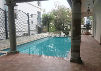 Thao Dien villa for sale area of 436sqm 1 ground 2 floors 5 bedrooms beautiful swimming pool