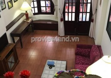 Need to rent House District 2 Nguyen Cu street area of 100m2 3 floors 4BRs full furniture