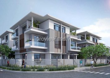 The townhouse in PhoDong Village in District 2 area of ​​6x20m 1 ground 2 floors