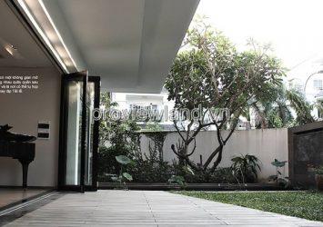 Villa for sale in An Phu An Khanh District 2 1 basement 1 ground 2 floor 288sqm with garden