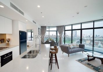 Apartment for rent in City Garden 116m2 2 bedrooms nice furniture City View