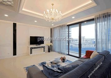 The apartment is extremely luxurious with 3 bedrooms 150m2 project Estella Heights
