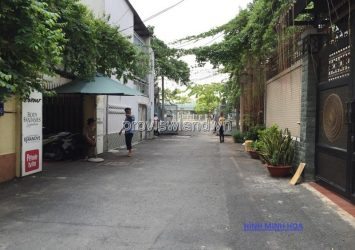 Villa for rent in District 1 Nguyen Van Nguyen 200m2 1 ground 2 6BRs