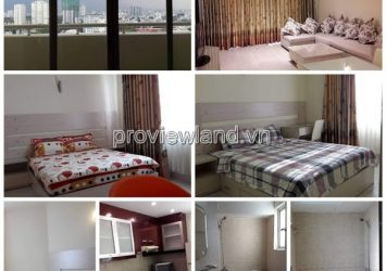 Hung Vuong Plaza Apartment District 5 132sqm 3 bedrooms high floor full furniture