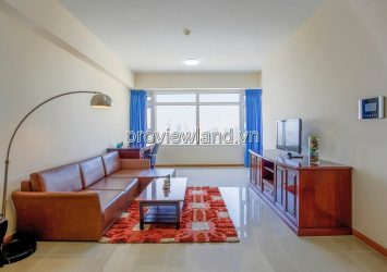 Rental price: $ 1,500 / month Saigon Pearl apartment for rent 3 bedrooms area 120m2 Ruby 2 Tower luxury furniture