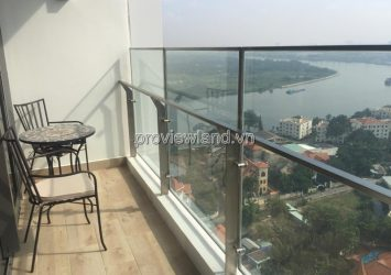 Nassim Thao Dien apartment for rent view river with 2 bedrooms fully furnished