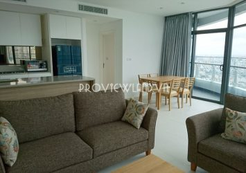 City Garden apartment for rent in Binh Thanh with 2 bedrooms luxury designed