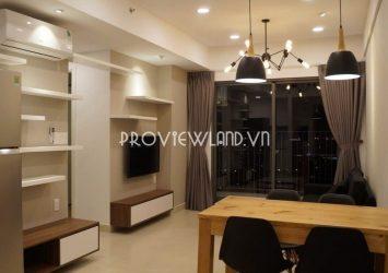 Masteri Thao Dien apartment for rent 2 bedrooms high floor nice view