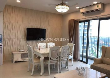 Masteri Thao Dien apartment for rent fully furnished with 3 bedrooms
