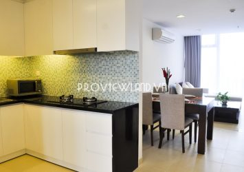 Serviced apartment 1 bedroom for rent in Nguyen Van Huong street