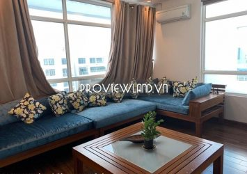 Penthosue apartment for rent Hoang Anh RiverView 2 floor 2 garden 4 bedrooms 250m2