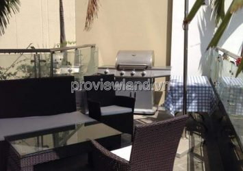 Renting in The Estella with 03 bedrooms full furniture 192sqm low floor