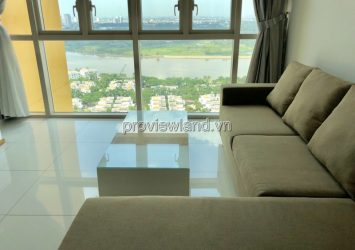 Two bedrooms apartment for rent at The Vista 101m2 river view