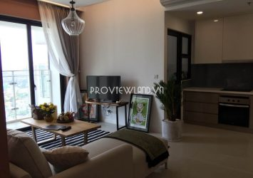 Estella Heights apartment high floor at T1 tower for rent 2 bedrooms