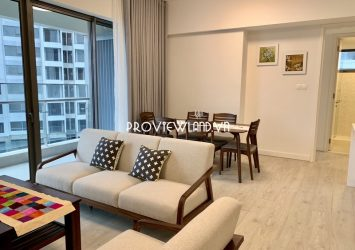 Apartment with 2 bedrooms for rent at Aspen Gateway Thao Dien nice view