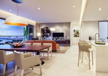 For sale apartment 4 bedrooms high floor river view at Gateway Thao Dien