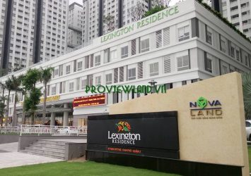 Shophouse area of 171m2 for lease at Lexington Residence in District 2